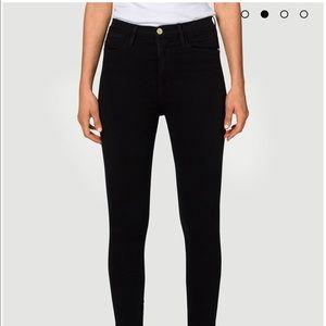 Frame black jeans - Ali High Rise
